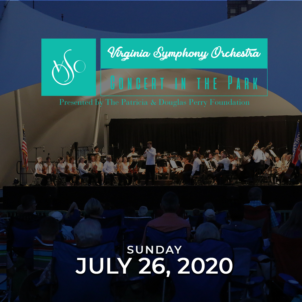 2021 Virginia Symphony Orchestra Concert in the Park