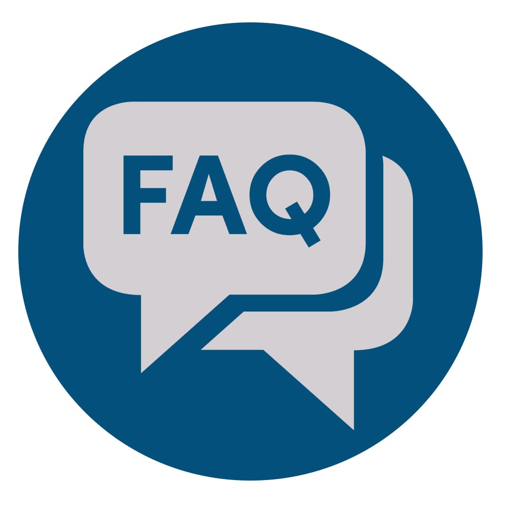 FAQ Button link