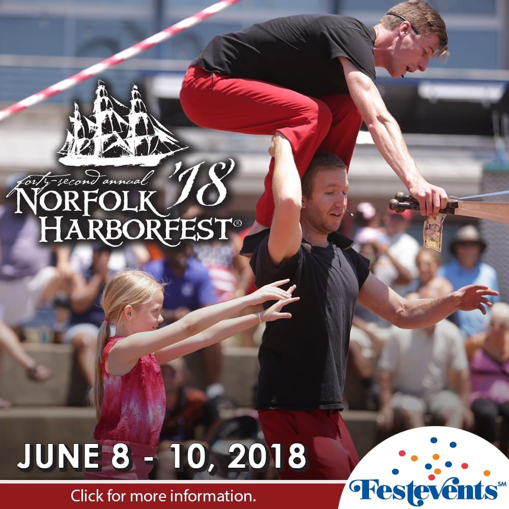 2018 acrobatics at Harborfest