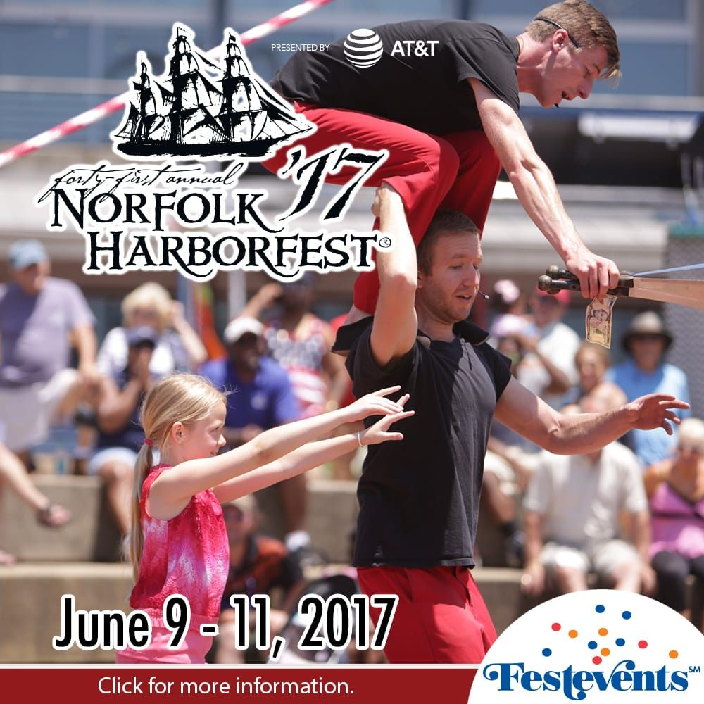 2017 acrobatics at Harborfest