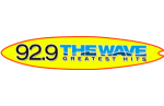 92.9 The Wave logo