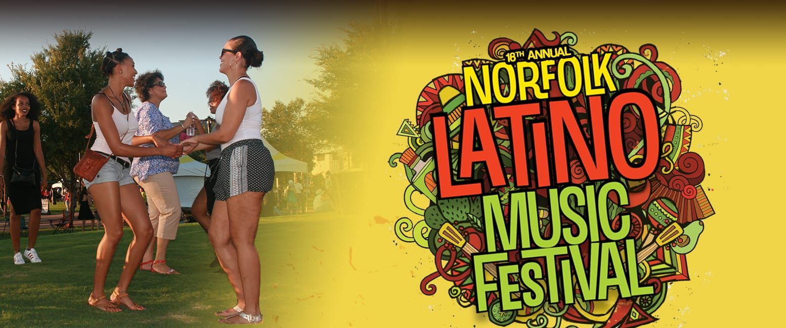 Norfolk Latino Music Festival header